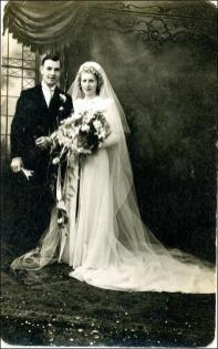 Marriage photo Cyril Dove and Maida