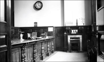 The Banking Hall at the Midland Bank Morley
