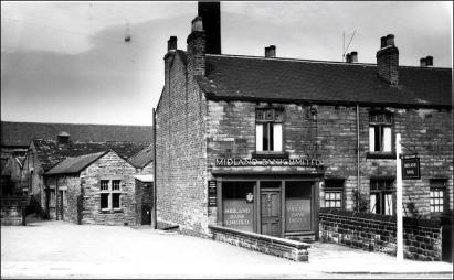 Midland Bank, Town St., Gildersome, at Church Corner