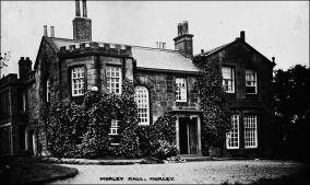 Morley Hall as a Maternity Hospital