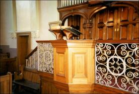 Morley Zion Chapel Pulpit