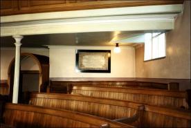 Interior of Morley Zion Chapel prior to demolition