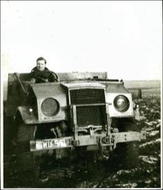 Four wheel drive, ex Canadian Army lorry with V8 engine