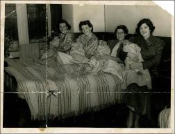 War babies at Morley Hall Maternity Home