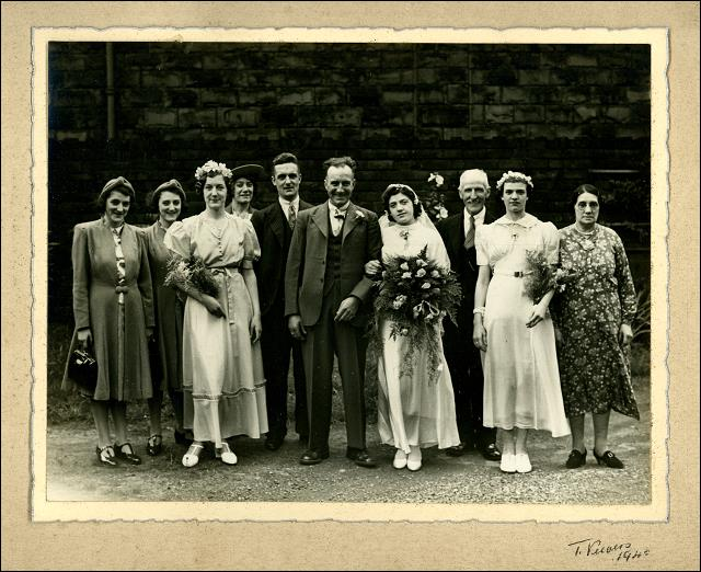 Wedding of George Slingsby and Kathleen Iremonger