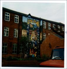 The Mural at Groundwork Trust, Wesley Street, Morley