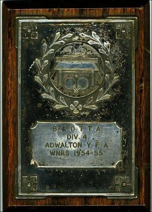 Shield won by Adwalton, Zion Chapel, Table Tennis Team