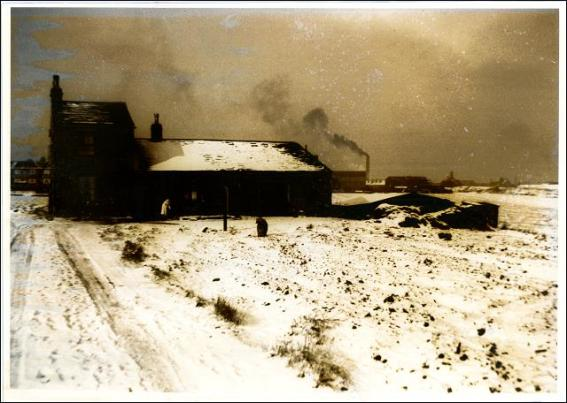 Hopewell Farm in winter time