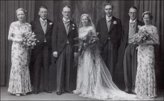 A Wedding group