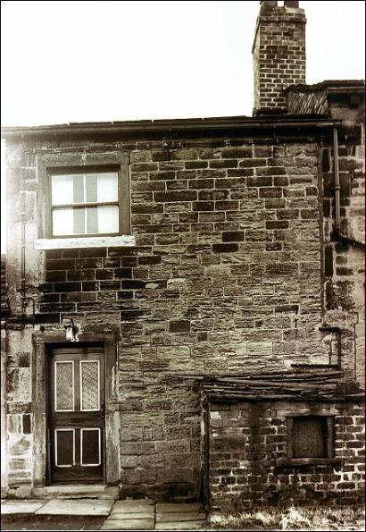 The outside of 55 Moorside Road