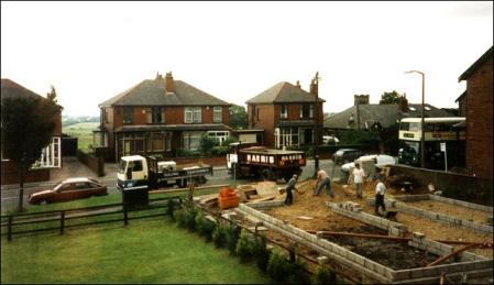 Building a Bungalow in Bradford Road