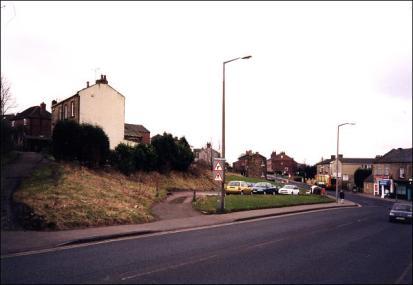 View of beginning of Wakefield Road
