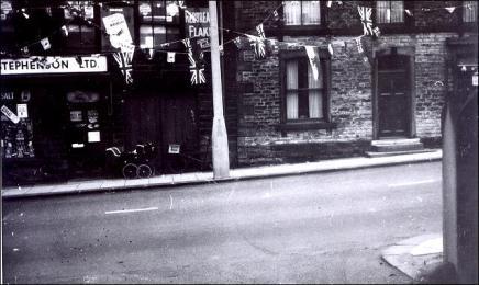 Jesse Stevenson's grocer's shop, King Street, Drighlington