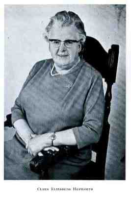 Clara E. Hepworth - Freeman of Morley and Mayor