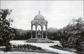 The ornate Water Fountain in Dartmouth Park