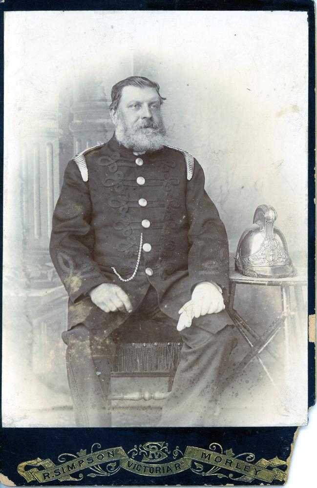 Samuel Sykes, fireman and stone mason.