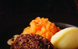 Haggis, Neeps and Tatties for Burns Night