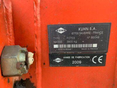 Falciatrice Kuhn FC 703 Foto 05