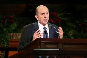 LDS Church President Thomas S. Monson hospitalized; release expected soon