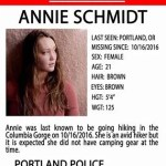 Day of Pray and Fasting to Find Annie Schmidt – #FindAnnie