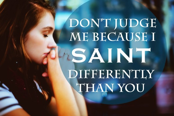 judging others judge