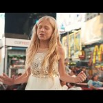 "12-Year-Old LDS Musician Sings ""Stand in the Light"" in the Middle of Times Square"