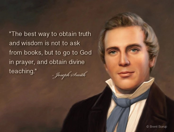 quotes by joseph smith the mormon prophet