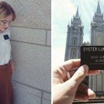 Sister Missionary on Detour in Salt Lake City is Using the Power of Technology