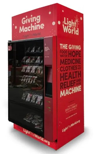 giving machines