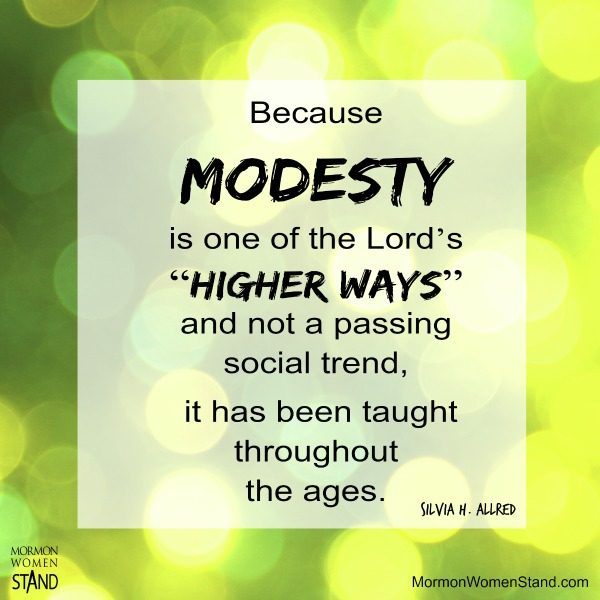 Modesty Meaning - YouTube