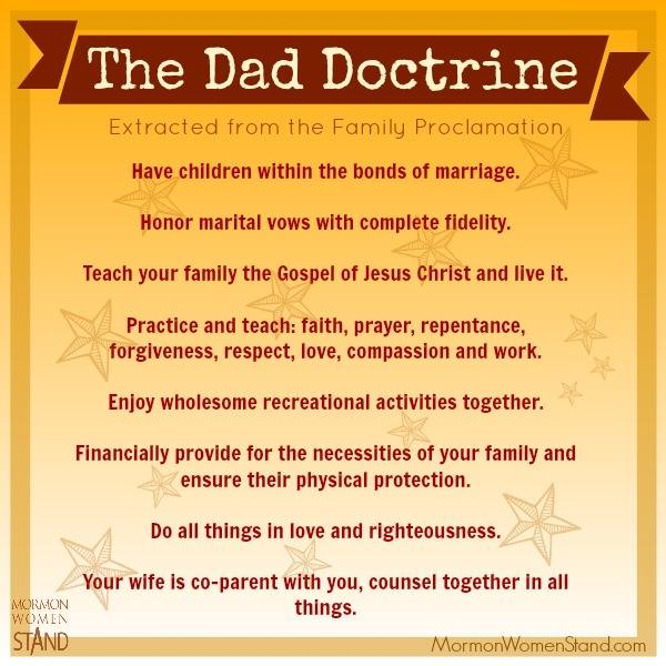 The Dad Doctrine