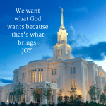 Joy: Wanting What God Wants