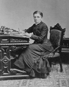 emmeline at desk