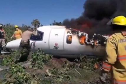 मेक्सिकोमा विमान दुर्घटनाग्रस्त, छ सैनिकको मृत्यु