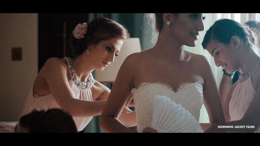 Persian Wedding Dubai - Bride prep