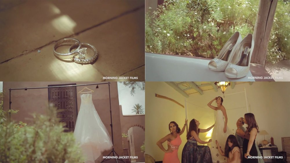 Wedding in Marrakech at Beldi Country Club