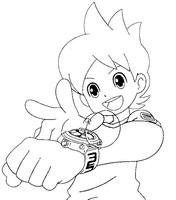 Malvorlagen Yo Kai Watch Morning Kids