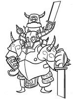 Desenho para colorir Pekka