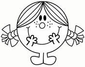 coloring pages the mr men show drawing