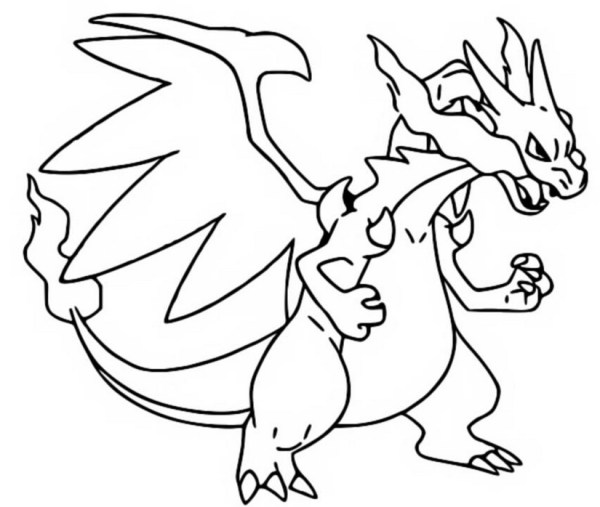 charizard coloring page # 58