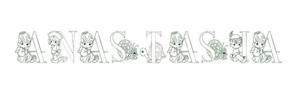 anastasia coloring pages # 15