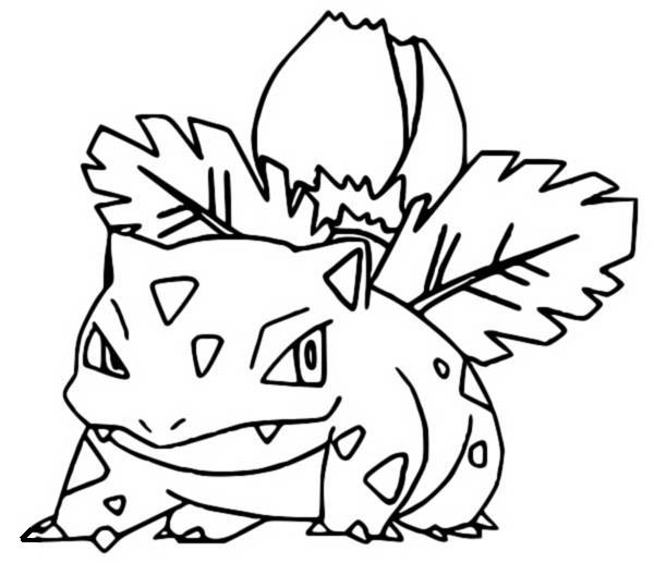 coloring pages pokemon ivysaur drawings pokemon