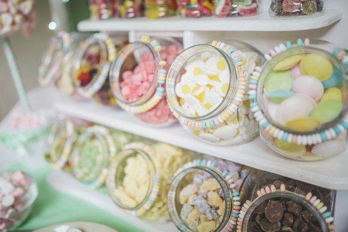 jelly wedding food station ideas