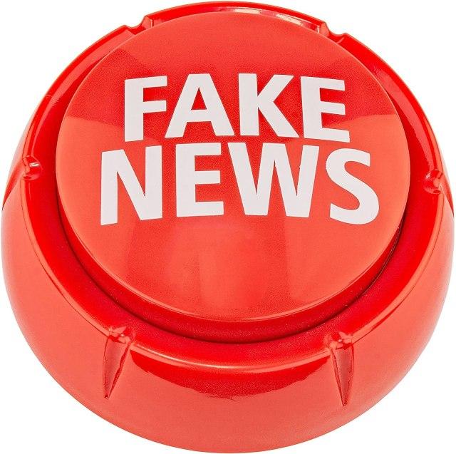 Fairly Odd Novelties Trumpedup Fake News Button