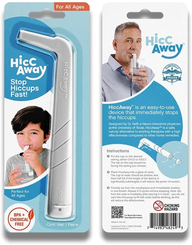 HiccAway A Natural Remedy Proven to Stop Hiccups Instantly
