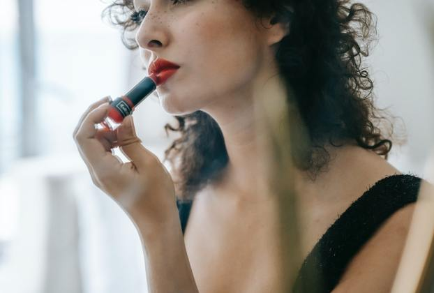 Red Lipstick on My First Date