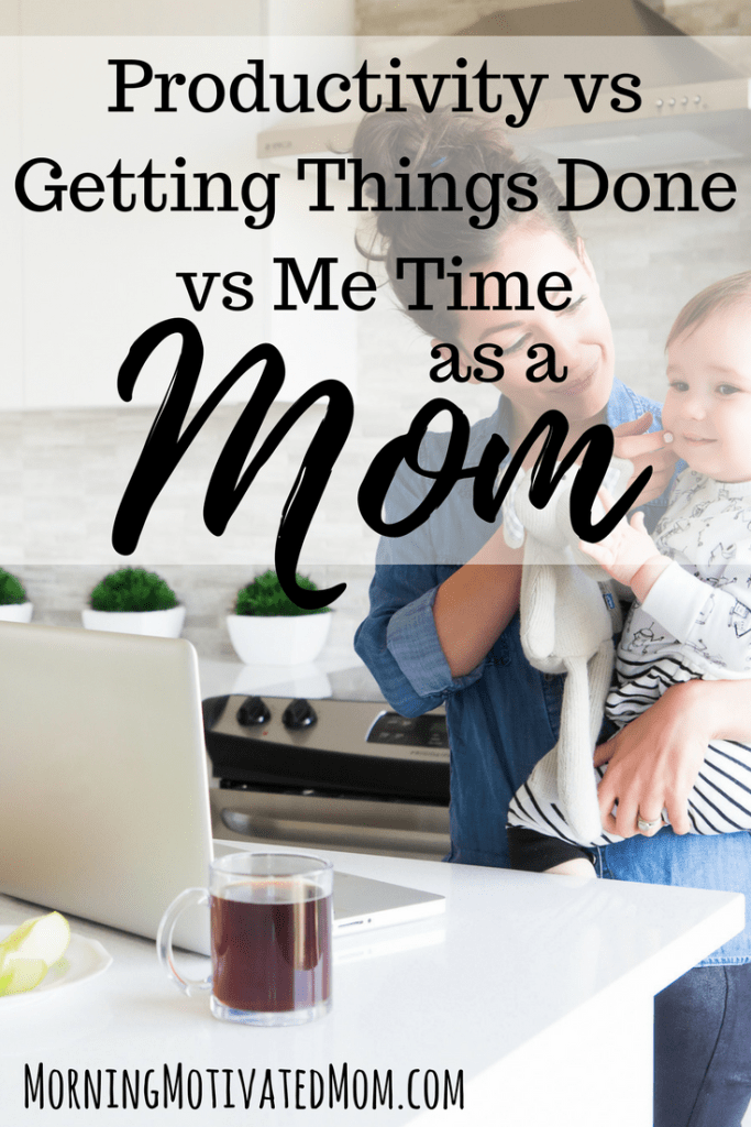 Does Productivity matter as a mom? How do you balance productivity with getting things done and me time as a mom? It can be hard to balance it out.