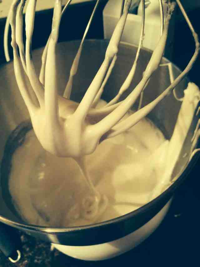 Baking Meringue Cookies