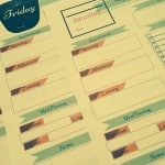 My Top Tip for Having a Productive Day {Free Printable: My Daily Planner}