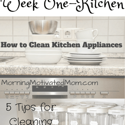 30 Day Spring Cleaning Challenge – Week 1